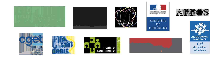 Les partenaires de fable-Lab : le PHARES, la fondation Humanité Digital et Numérique, le département de Seine-Saint-Denis, le Ministère de l'Intérieur, l'APPOS, le CGET, la ville de l'Île-Saint-Denis, Plaine Commune, la ville d'Epinay-sur-Seine, la fondation Crédit Coopératif, la CAF de Seine-Saint-Denis